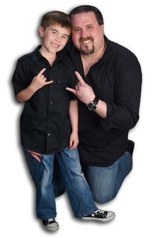 Vincent Z. Whaley and his son, Jacob Daniel Whaley